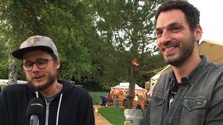 Les organisateurs du Rock Altitude à l'interview