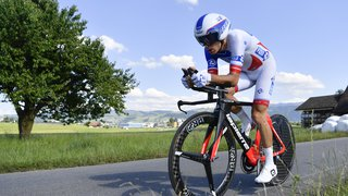 Cyclisme: le Valaisan de la FdJ Sébastien Reichenbach espère reprendre la compétition en mars prochain