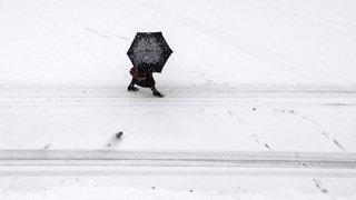 La Suisse se pare d'un manteau de neige