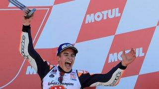 Marc Marquez décroche  son quatrième titre mondial