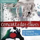 Concert de l'école de musique BBM74 et Ton sur Ton