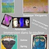 """""""Immersion dans la couleur. Exposition."""