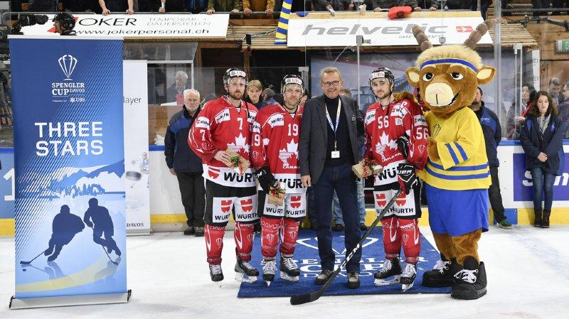 Hockey: les Canadiens battent les Tchèques et se hissent en finale de la Coupe Spengler