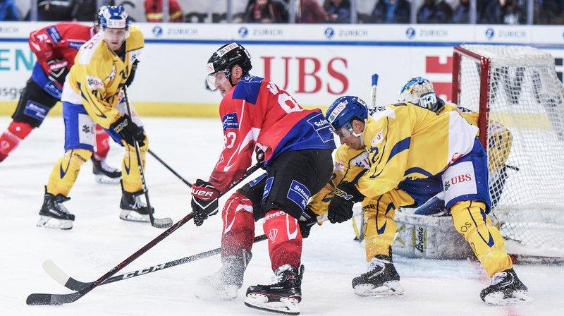 Hockey: la Suisse pulvérise Davos et rejoint le Team Canada en finale de la Coupe Spengler