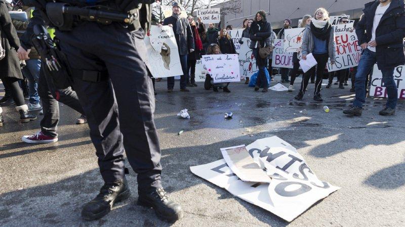 Lausanne: heurts entre éleveurs et militants animalistes à Swiss Expo