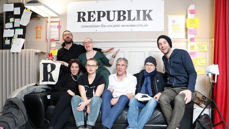 Mise en ligne du magazine indépendant alémanique Republik
