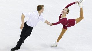 Avec son nouveau partenaire, Ioulia Chtchetinina patine dans une autre dimension