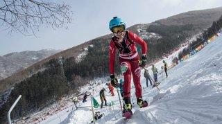 Médaille de bronze espoirs pour Marianne Fatton lors des championnats d'Europe de la verticale