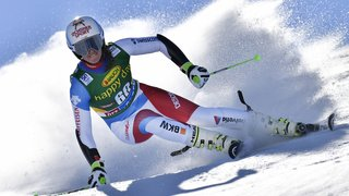Ski alpin: fin de saison pour Camille Rast