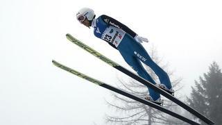 Saut à ski: Simon Ammann retrouve les joies du podium en terminant 3e à Tauplitz