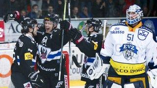 Hockey - National League: Fribourg Gottéron écrase Zoug, Genève-Servette explose à Lugano