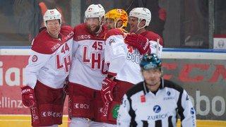 National League: Lausanne l'emporte et se rassure, Fribourg Gottéron égare un point