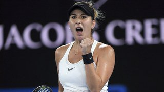 Open d'Australie: la St-Galloise Belinda Bencic élimine Venus Williams, finaliste en 2017, au premier tour