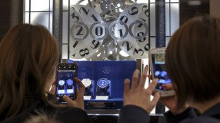 Horlogerie: le Salon international de la haute horlogerie attend 20'000 visiteurs à Genève