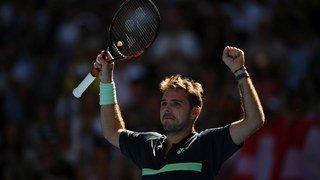 """Open d'Australie: après 197 jours d'arrêt forcé, Wawrinka parle d'""""une des plus grandes victoires"""" de sa carrière"""