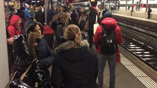 Neuchâtel: trafic paralysé par un train en panne