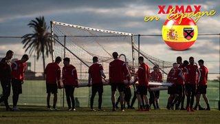 Le camp de Xamax en Espagne