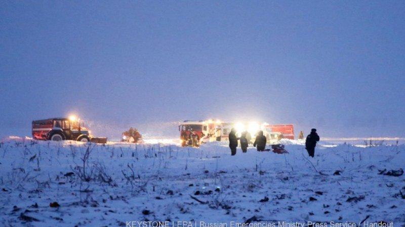Russie: un Suisse figurerait parmi les victimes du crash d'avion