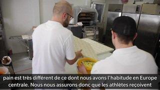 Du pain et des jeux pour les athlètes olympiques