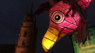 Les lanternes du carnaval de Bâle exposées au public