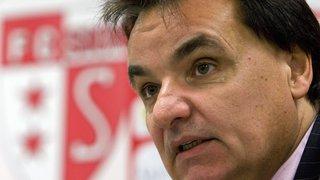 Football: le TAS réduit encore la suspension de Christian Constantin, président du FC Sion, à 5 mois