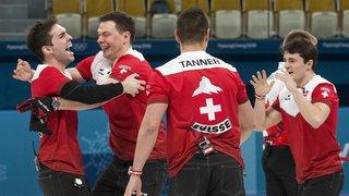 JO 2018 - Curling: du bronze et des nerfs d'acier pour les Suisses