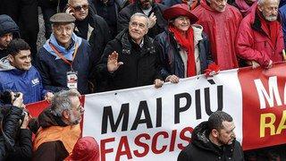 Italie: l'extrême droite et les antifascistes manifestent à une semaine des législatives
