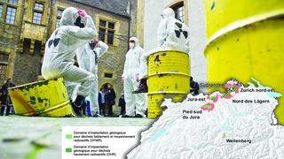 Les Jurassiens voteront sur deux projets de dépôts de déchets radioactifs