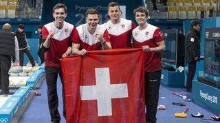 Une équipe de Suisse  coulée dans le métal