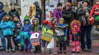 Carnaval du Noirmont cortège des enfants