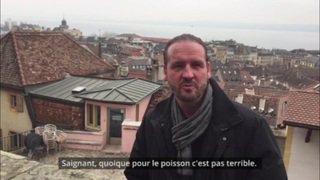 """L'interview """"Croque-monsieur"""" de Nicolas Feuz"""