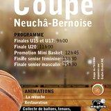 Finales de la coupe NE-BE - Basketball