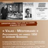 """Exposition Chemin d'Images """"Valais-Méditerranée"""""""