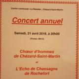 Choeur d'hommes de Chézard-Saint-Martin/Rochefort