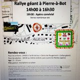 Rallye pour enfants à Pierre-à-Bot