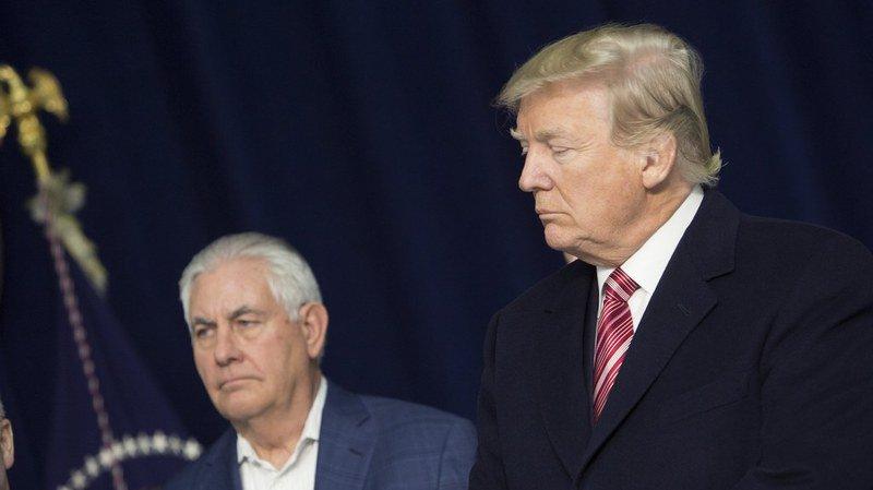 Le président américain Donald Trump a écarté mardi son secrétaire d'Etat Rex Tillerson.