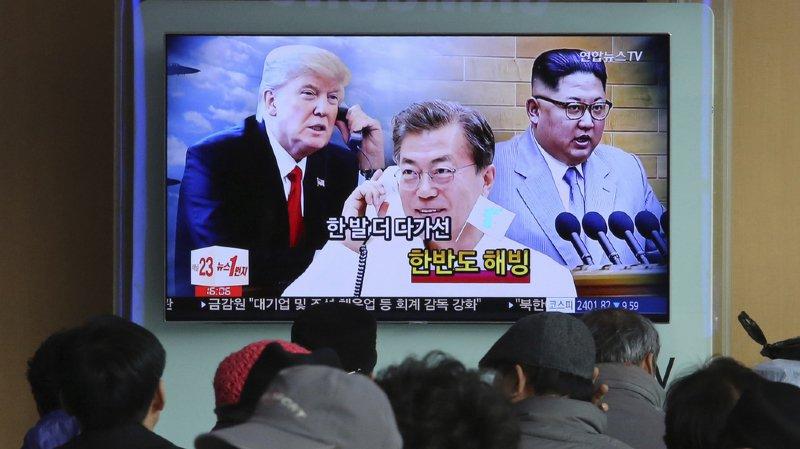 Dénucléarisation: Donald Trump accepte une rencontre historique avec Kim Jong-un
