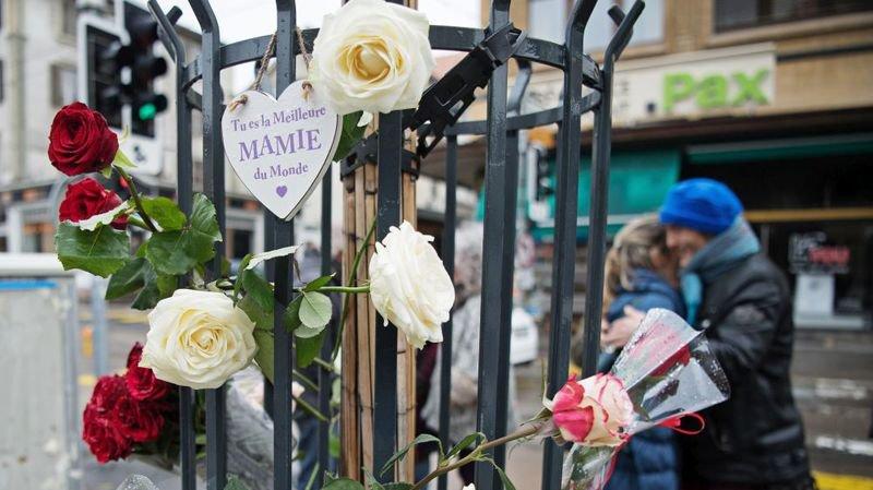Les proches de Josette lui ont rendu hommage ce mardi sur l'avenue Léopold-Robert.