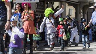 Beach party d'enfer au carnaval du Val-de-Travers