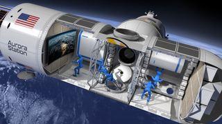 Perché à 320 km d'altitude, le premier hôtel dans l'espace ouvrira ses portes en 2021