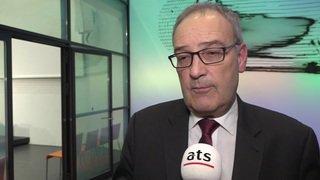 """""""Un investissement stratégique, pour le futur"""", selon Guy Parmelin"""