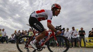 Cyclisme: le Suisse Silvan Dillier termine sur le podium de Paris-Roubaix
