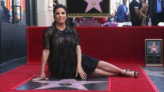Hollywood: Eva Longoria reçoit son étoile