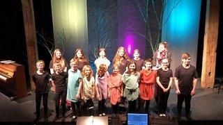 Les jeunes comédiens des Mascarons  emmènent le public chez les Vikings