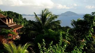 Dépaysement  créole à la Guadeloupe