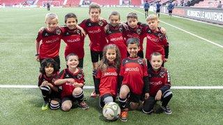 Arcinfo Kids, avec Neuchâtel Xamax FCS - FC Vaduz