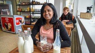 Du lait cru dans une épicerie de quartier locloise