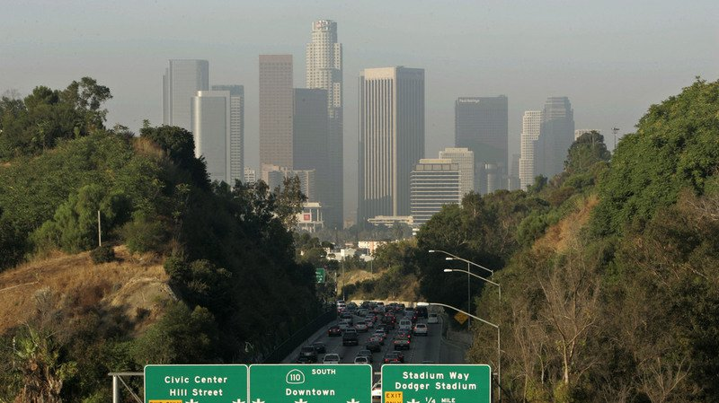 États-Unis: les villes les plus polluées se trouvent en Californie