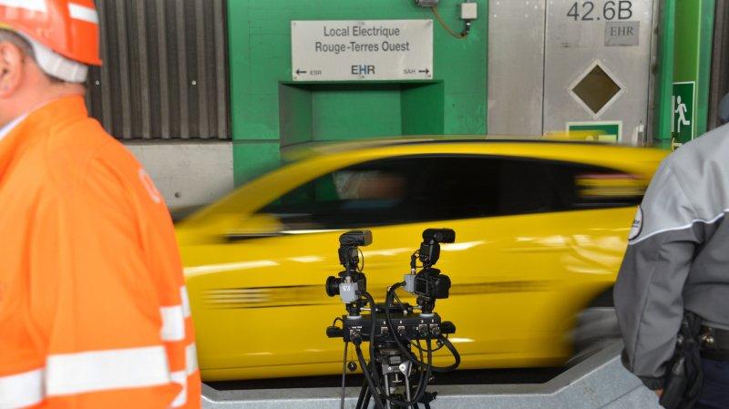 Autoradio et radars pour sécuriser les tunnels sous Neuchâtel