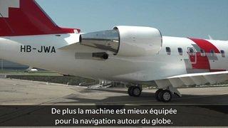 Rega: le nouvel avion ambulance qui peut voler plus haut va raccourcir les rapatriements